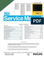 Philips 170b6-150b6-190b6 service manual
