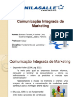 Grupo 2B - Comunicação Integrada de Marketing