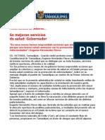 com 0486, 291105 Eugenio Hernández Flores en su primer informe de gobierno