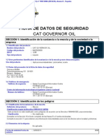 Cat Governor Oil