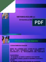 Ciencias, el método científico aplicado a la ciencias sociales 2do medio Octubre 2013 Redentor (1)