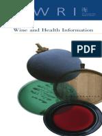 Wine and Health Book
