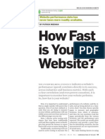 How Fast is Your Website