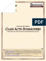 Abandoned Arts - Class Acts - Summoners