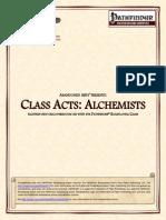 Abandoned Arts - Class Acts - Alchemists