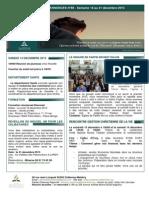Bulletin d'annonces N°88 Semaine du 14 au 21 décembre 2013