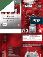 Nba 2k14 Manual Pc Online Final v1 Cover