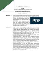 Peraturan Daerah Kota Mataram Nomor 12 Tahun 2011 Tentang Rencana Tata Ruang Wilayah Kota Mataram Tahun 2011 - 2031