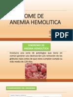 Sindrome de Anemia Hemolitica