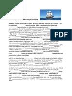 Mixed tenses in context exercise | Pacific Ocean | James Cook