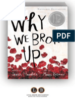 Why We Broke Up by Daniel Handler and Maira Kalman (SAMPLE)