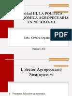 Unidad III_Politica económica Agrop