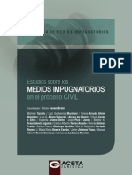06 Estudios Sobre Los Medios Impugnatorios en El Proceso Civil