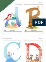 Disney Alphabet a F