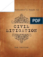Pratictioners Guide to Civil Litigation