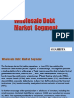 Wholesale Debt Market India