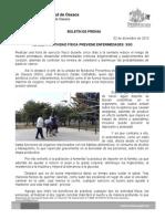 02/12/13 REALIZAR ACTIVIDAD FÍSICA PREVIENE ENFERMEDADES