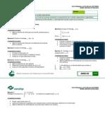 Actividades Reevaluacion Analisis Derivativo de Funciones