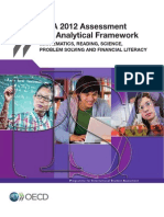 PISA 2012 Assesment and Analytical Framework