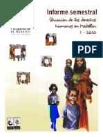 Informe DDHH 2010-1 (Otro Enfoque)