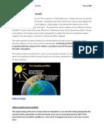 environmental reflection  - natural disasters