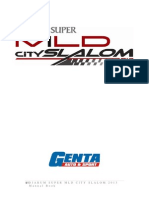 Regulasi Slalom 2013 Makassar