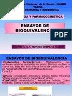 2 - Ensayos  Bioequivalencia