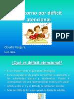 Trastorno déficit atencional