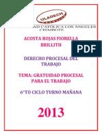 Acosta Rojas Fiorella - Responsabilidad Social - Procesal Del Trabajo