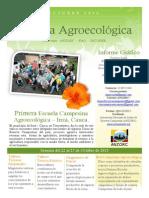 Informe Gráfico Escuela Aroecológica ANZORC