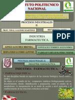 Control de Calidad en Formas Farmaceuticas