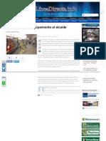 15-11-2013 'Piden Bomberos Equipamiento Al Alcalde'