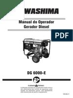 Manual Gerador Diesel DG 6000-E_V3