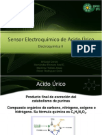 Sensor Electroquímico de Acido Úrico