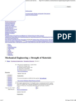 Strength of Materials - Mechanical Engineering Questions and Answers Page 7
