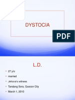 Dystocia - Case Report