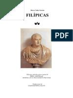Cicerón, Marco Tulio - Filípicas