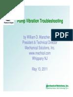 Pump Vibration Troubleshooting 0511