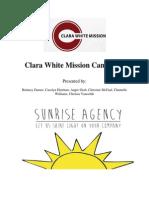 Clara White Mission PR Proposal