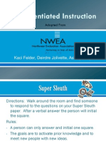 Differentiated Instruction Presentation (ppt)