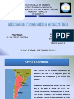 Mercado Financiero Argentino