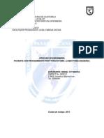 Pae -Toracotomia- Univerdidad Panamericana de Guatemala