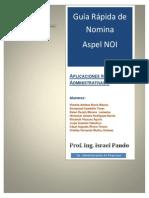 Guía Rápida de Nomina con Aspel NOI