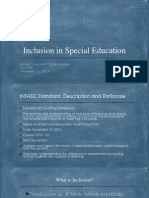 inclusion in special education