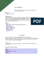 Latihan HTML 5