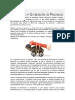 Modelación y Simulación de Procesos 2