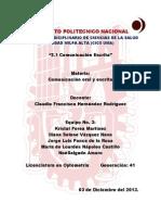 Kristal, Iliana, Lourdes, Jorge, Noe - 2.1 Comunicación Escrita