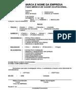 Exame Medico Admissional