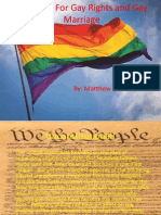 The Fight for Gay Rights and Gay Marriage