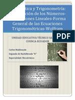 Matemática y Trigonometría